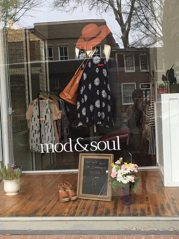 mod&soul display in richmond, va