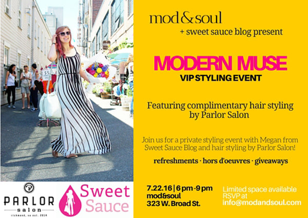 styling event at mod&soul