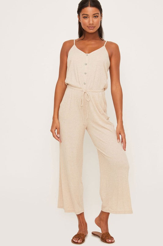 Drawstring Jumpsuit - Jumpsuit - LUSH CLOTHING - MOD&SOUL