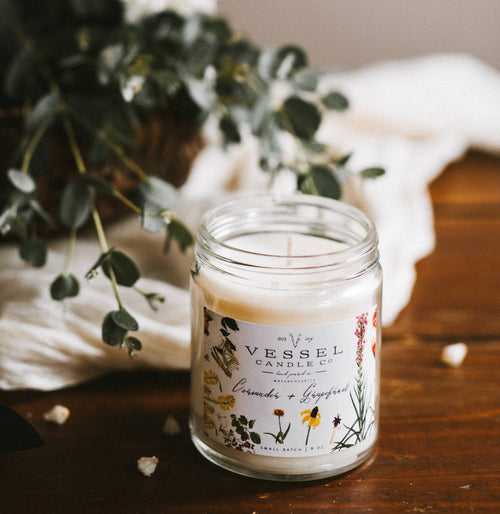 Vessel Candle Co. - Coriander & Grapefruit -  - Vessel Candle Co. - MOD&SOUL