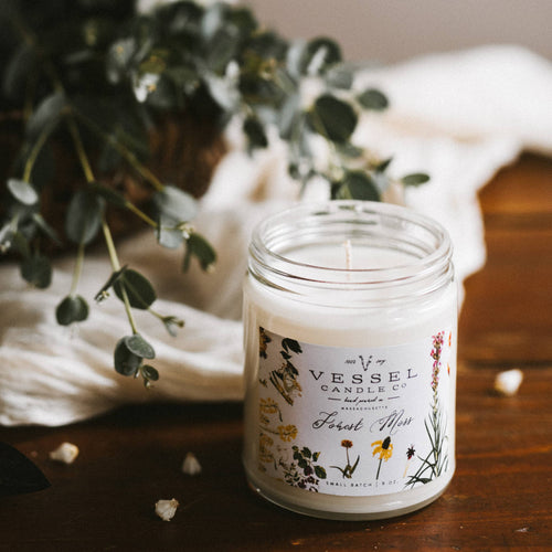 Vessel Candle Co. - Forest Moss - Classic Collection -  - Vessel Candle Co. - MOD&SOUL
