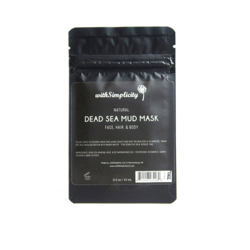withSimplicity Beauty - Dead Sea Mud Mask with Aloe Vera -  - withSimplicity Beauty - MOD&SOUL