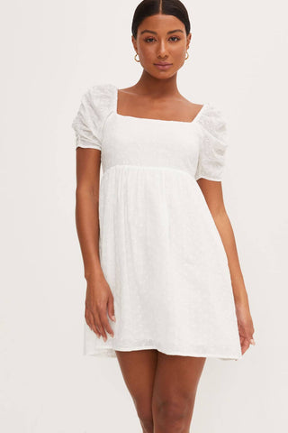Dolman Sleeve Shift Dress