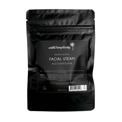 withSimplicity Beauty - Facial Steam Pouch -  - withSimplicity Beauty - MOD&SOUL