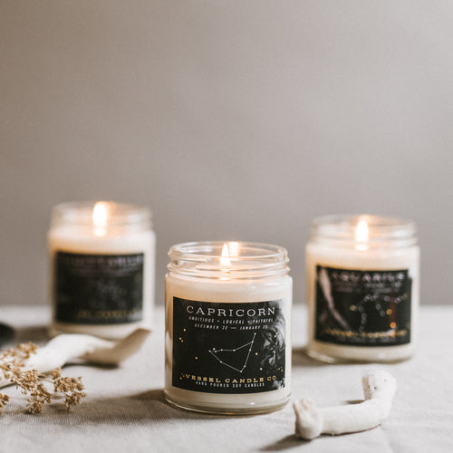 Vessel Candle Co.Zodiac Candle - Gift - Vessel Candle Co. - MOD&SOUL