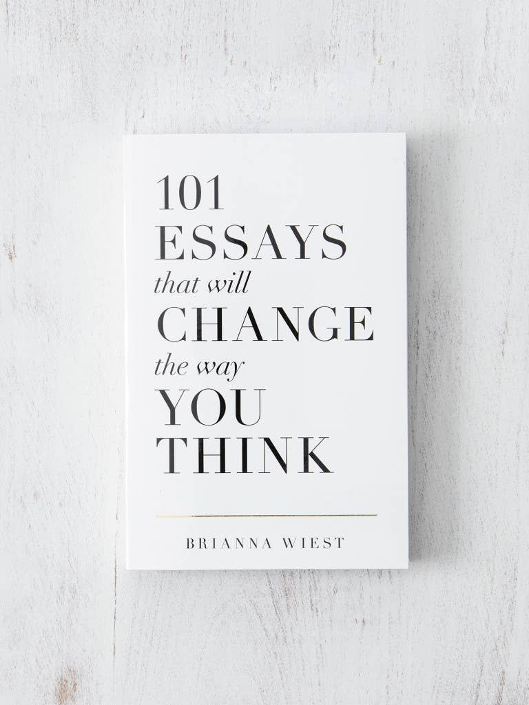 101 Essays That Will Change The Way You Think - BOOK - Thought Catalog - MOD&SOUL