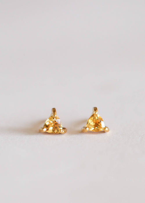 JaxKelly - Citrine Mini Energy Gems - Earrings - JaxKelly - MOD&SOUL