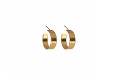 Maslo Jewelry Flat Hoop Earrings - jewelry - Maslo Jewelry - MOD&SOUL