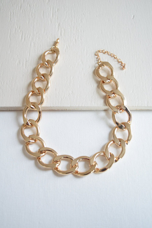 Jumbo Gold Chain Choker - Necklace - MOD&SOUL - MOD&SOUL