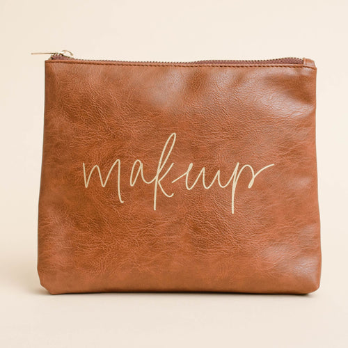 Faux Leather Makeup Bag - Makeup -  - Sweet Water Decor - MOD&SOUL