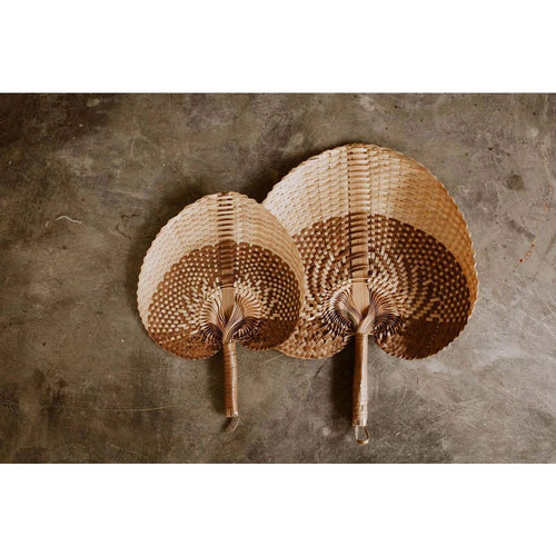 Village Thrive - Woven Paradisio Fan in Amber Ombre - home - Village Thrive - MOD&SOUL