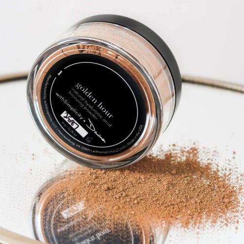 withSimplicity Beauty - Natural Hyaluronic Acid Bronzing Powder - beau - withSimplicity Beauty - MOD&SOUL
