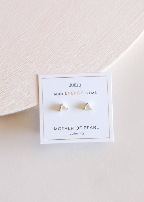 JaxKelly - Mother of Pearl Mini Energy Gems -  - JaxKelly - MOD&SOUL