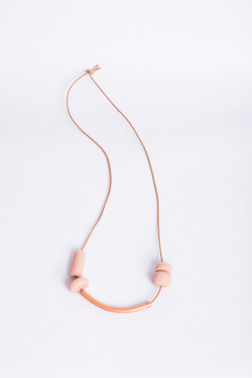 Glister Pure Peach Necklace - Necklace - Glister - MOD&SOUL