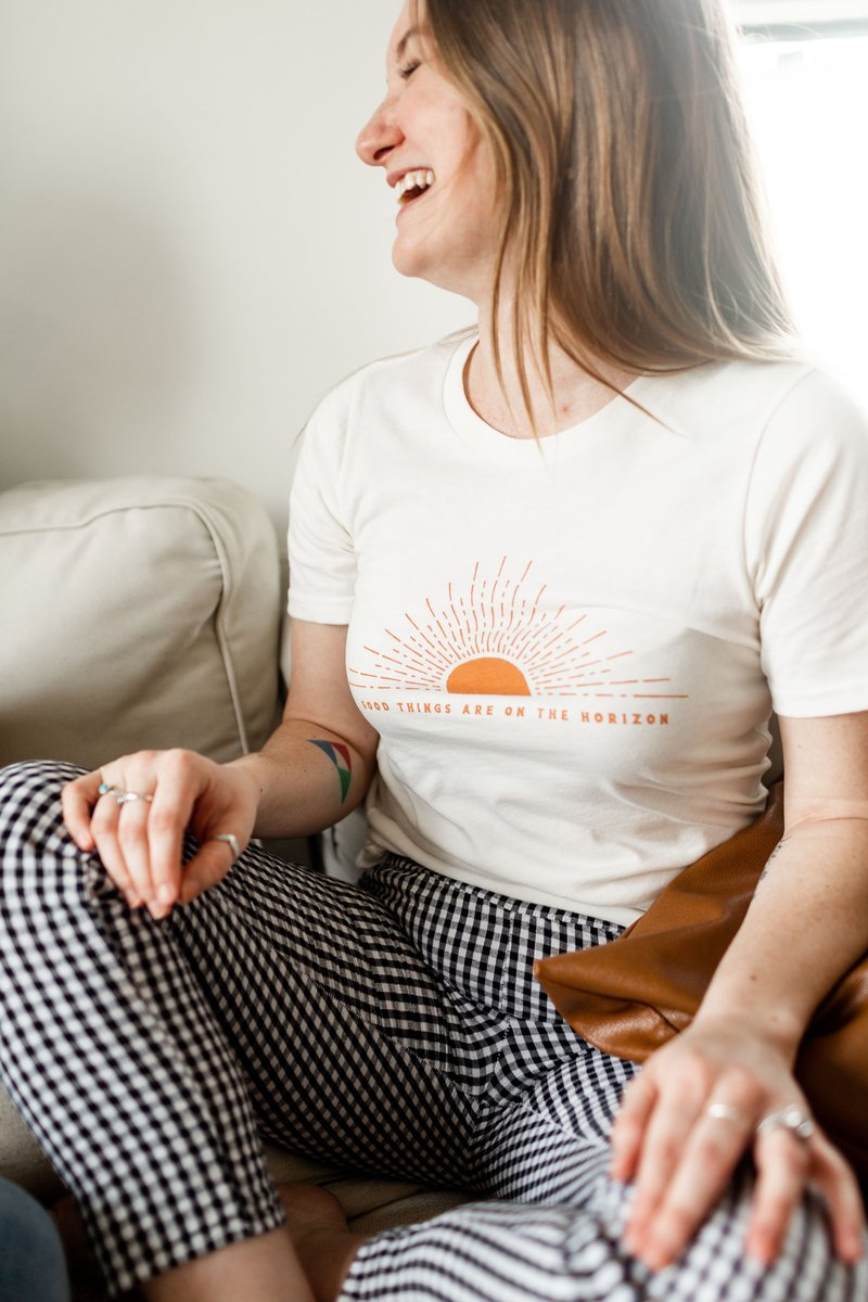 Good Things Are On The Horizon Tee - Top - Polished Prints - MOD&SOUL