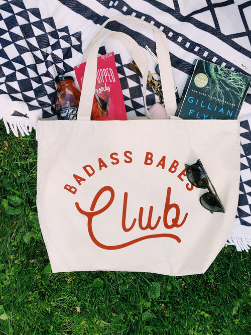 Badass Babes Tote - bag - Polished Prints - MOD&SOUL