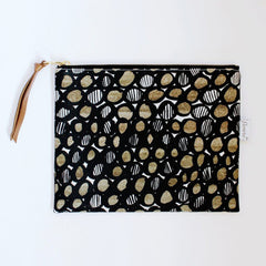 Handmade Pouch - Mod and Soul -flowie - 8