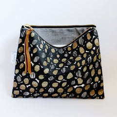 Handmade Pouch - Mod and Soul -flowie - 3