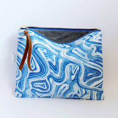 Handmade Pouch - Mod and Soul -flowie - 4