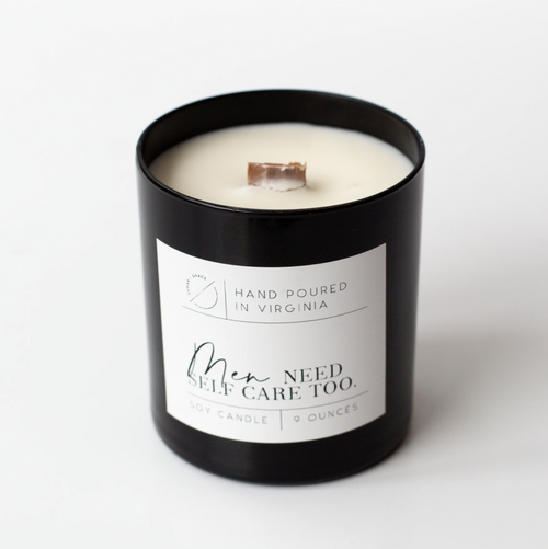 Men Need Self Care Too - Soy Candle - home - sugar and grace co - MOD&SOUL