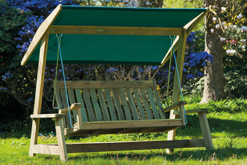Wooden Garden Swing Seats