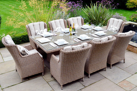 8 Seater Garden Furniture Sets