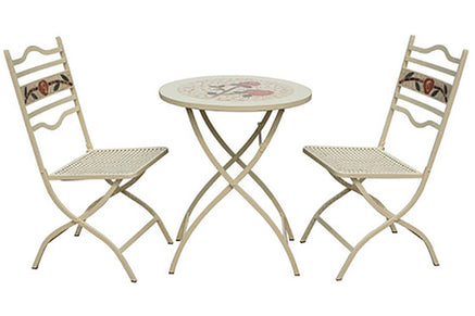 Metal 2 Seater Garden Furniture Sets