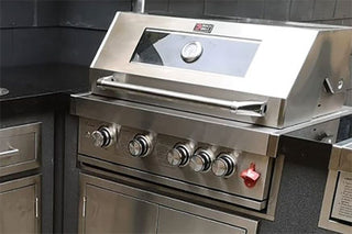 Draco Grills Build In Gas Barbecues