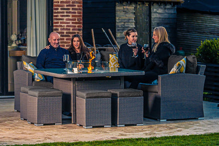 All Garden Furniture Sets with Fire Pits