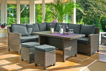 Kettler Palma Corner Outdoor Rattan Sofa Sets