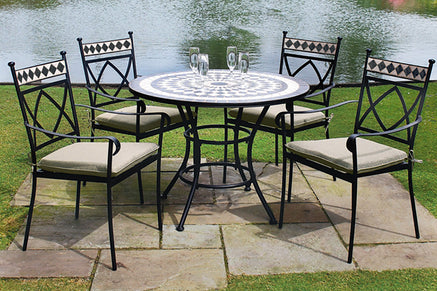 Metal 4 Seater Garden Furniture Sets