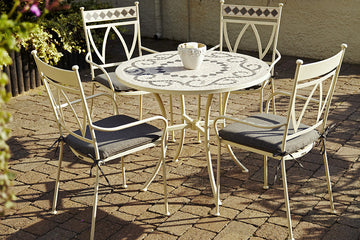 Ceramic 4 Seater Garden Furniture Sets
