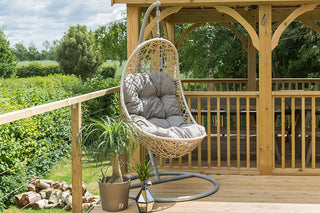 Garden Hanging Egg Chairs
