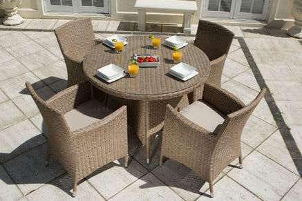 Rattan 4 Seater Garden Furniture Sets