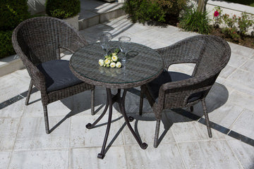 Rattan 2 Seater Garden Furniture Sets
