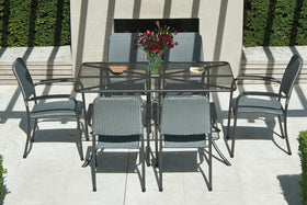 Metal 6 Seater Garden Furniture Sets