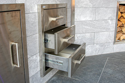 Outdoor Kitchen Cabinets, Doors and Drawers