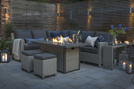 Kettler Palma Outdoor Garden Furniture Firepit Sets