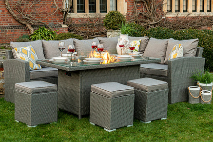 Fire Pit Garden Furniture Sets