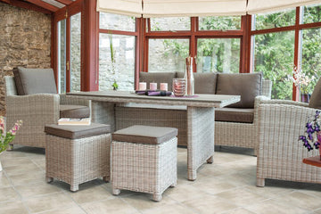 Kettler Palma Rattan Outdoor Casual Dining Sofa Sets