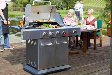4 Burner Gas Barbecues