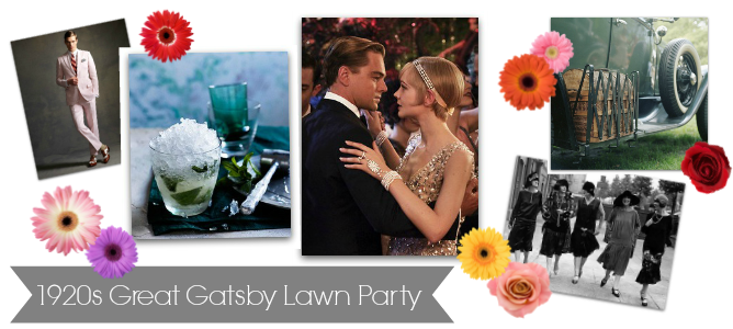 1920s Great Gatsby Lawn Party