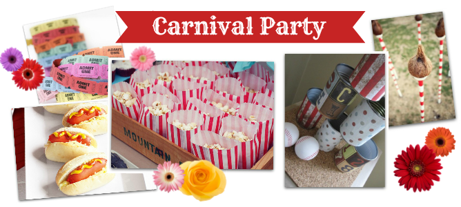Summer Carnival Garden Party Theme
