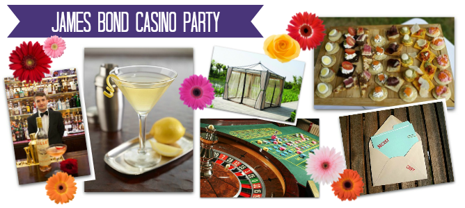 James Bond Casino Summer Party Theme