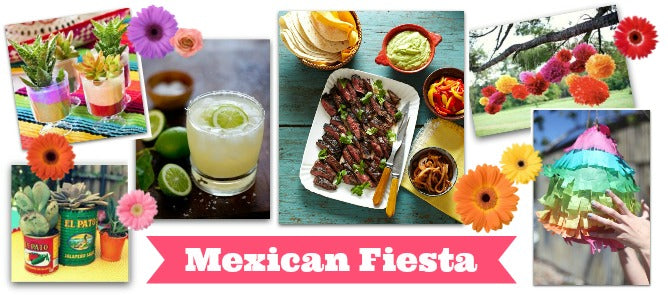 Mexican Fiesta Summer Garden Party Theme