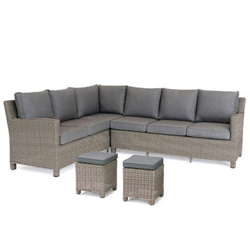 Kettler Palma Corner Right Hand Rattan Outdoor Sofa Set