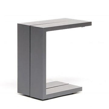 Kettler Elba Aluminium Garden Side Table Anthracite