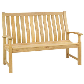 Alexander Rose Roble Santa Cruz High Back Bench 5ft (1.5m)