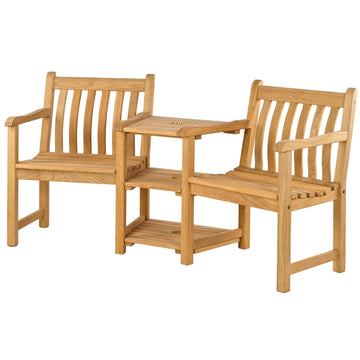 Alexander Rose Roble Wooden Garden Companion Love Seat