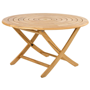 Alexander Rose Roble Bengal Round Folding Table 1.3m